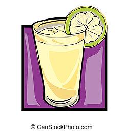 limonade, art, agrafe
