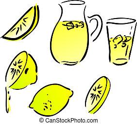 limonata, limoni