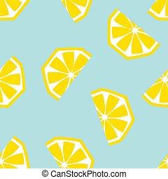 limone, seamless, illustrazione, vettore, modello, geometrico
