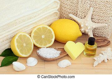 limone, terme, trattamento bellezza