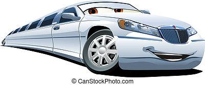 limousine, cartone animato