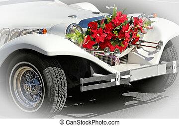 limousine, mariage
