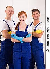 limpadores, desgaste trabalho
