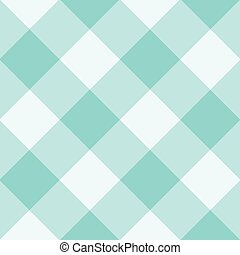 Limpet Shell Blue White Diamond Chessboard Background