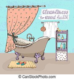 limpeza, boa saúde
