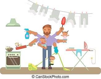 limpeza, homemaker