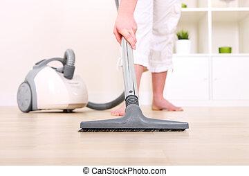 limpiador, vacío