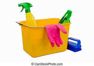 limpiar materiales