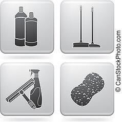 limpieza, aparatos