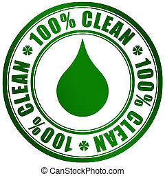 limpio, producto, símbolo