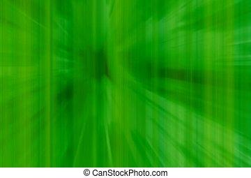 linéaire, directement, vert