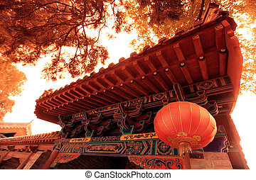 lin, china, shao, tempel