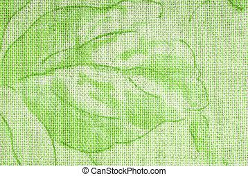 lin, hessian, fond, texture, tissu