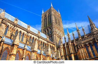 lincoln, angleterre, cathédrale