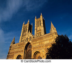 Lincoln Cathedral England.