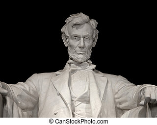 Lincoln Memorial Close Up