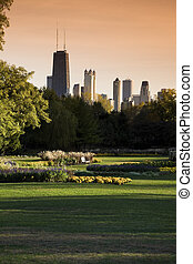 Lincoln Park vista - Lincoln Park in Chicago. Taken with...