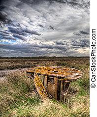 Lincolnshire Salt Marsh - Lincolnshire salt marshes neer...