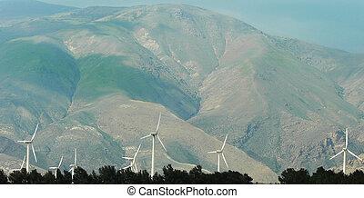 linda, alternativ, turbin, energi