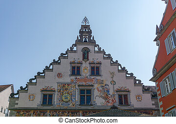 view of the historic old town hall in Lindau