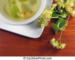 linden, fiore, tè