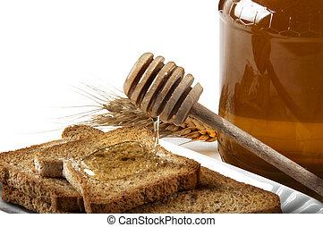 linden honey flowing - linden honey and nourishing genuine...
