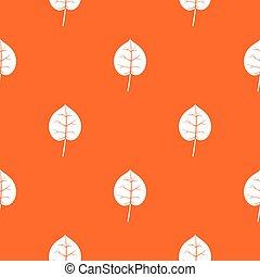 Linden leaf pattern seamless