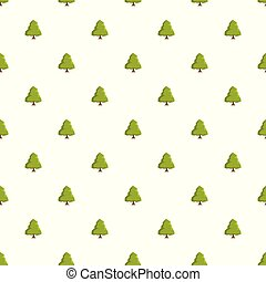 Linden tree pattern seamless