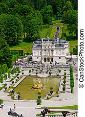 linderhof, palacio