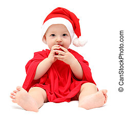 lindo, navidad, bebé