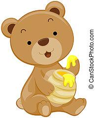 lindo, oso