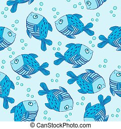 lindo, pez, patrón