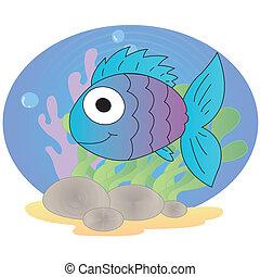 lindo, pez
