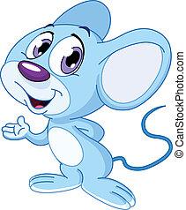lindo, ratón