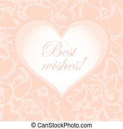 lindo, tarjeta de felicitación, pastel