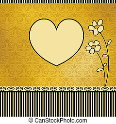 lindo, tarjeta