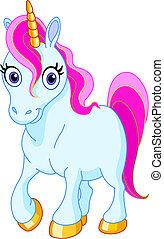 lindo, unicornio