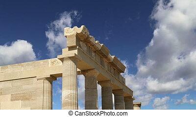 Lindos Acropolis,Rhodos, Greece - Lindos Acropolis on Rhodos...