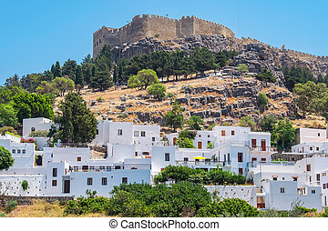 Lindos. Rhodes island, Greece