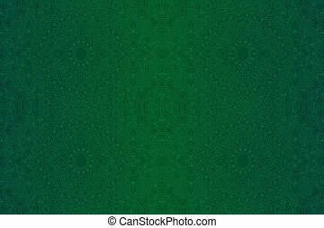 lineáris, művészet, elvont, zöld, motívum, seamless