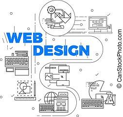 Line Art Design Concept