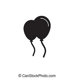 line balloon Icon