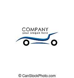 line car logo template