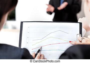 Line chart analysis