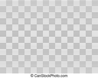Line halftone pattern - Line seamless halftone pattern with...