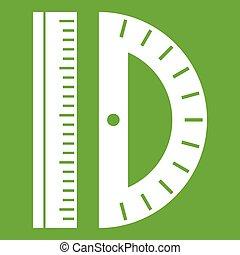 Line icon green