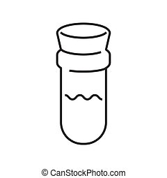 line icon Medical Device Icon, test tube