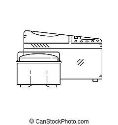 electric bread maker.