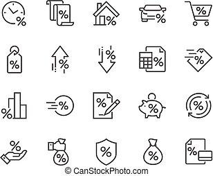 Line Loan Icons