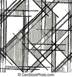 line monochrome graffiti pattern for your design
